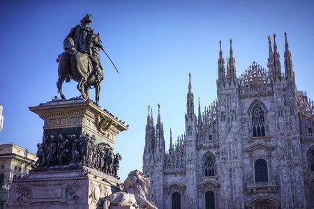 at milan: Milan Cathedral