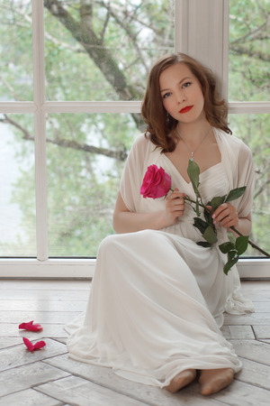 Vestido blanco corto quito