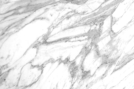 White marble Bianco Carrara, natural stone with gray veins Banco de Imagens