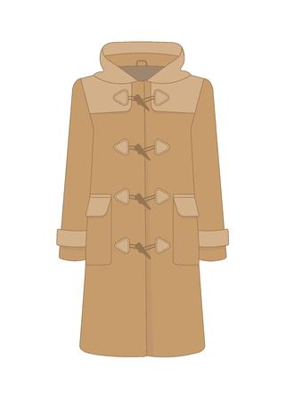 Womens duffle coat.
