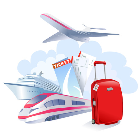travel icon isolated. vector illustration Vector
