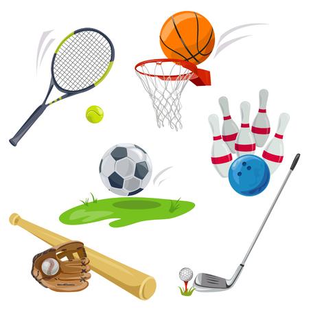 Sport, Ikonen, Sportarten. Illustration