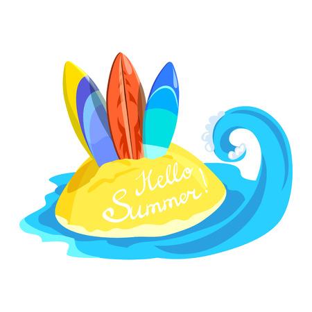 surfing board icon. vector illustration