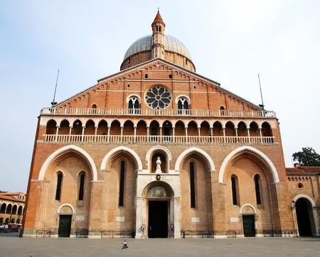 antonio: Saint Anthony Church (Basilica) - Padua, Italy Stock Photo
