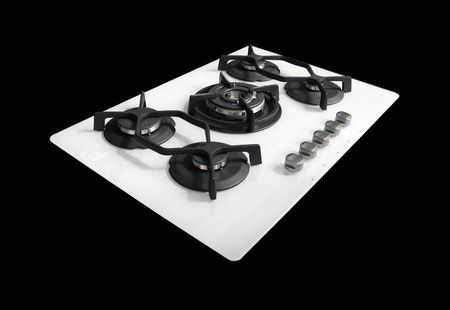 Design: modern gas hob Stock Photo - 10457014
