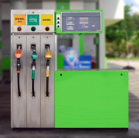 Gasoline price sign - Euro/Liter - Diesel, Gasoline
