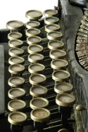 Old typewriter Stock Photo - 10486076