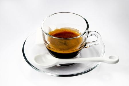 A cup of italian coffee  Standard-Bild