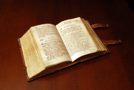 bible background: Version of the eighteenth century the Sacred Bible