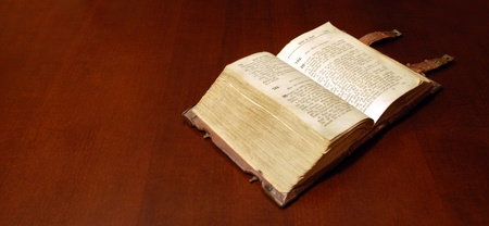 Version of the eighteenth century the Sacred Bible photo