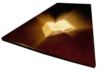 Old book: holy Bible Stock Photo - 10481037