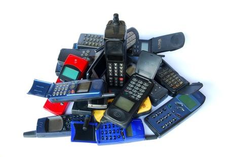 lots of: Old phones