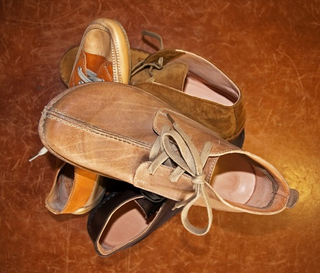 Italian shoes made by hand