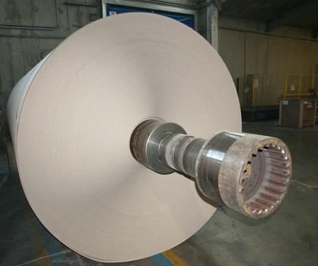 Papier-und Zellstofffabrik Werk - Rolls Pappe