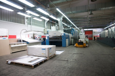 Offset print of the largest world atlas. Litorama is printing whit offset technology