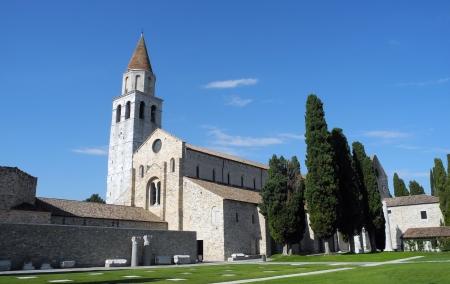 Aquileia Cathedral (Basilica) Standard-Bild