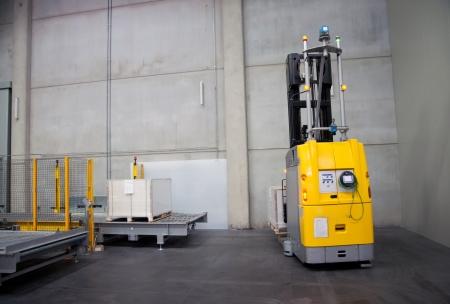 Printshop: Automated warehouse (for paper) Standard-Bild