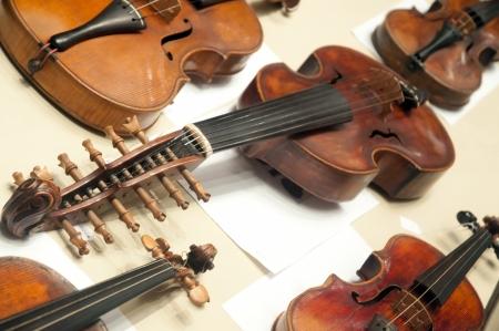 violins: Old violins