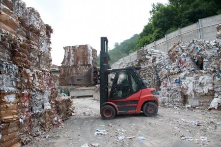 reciclaje de papel: Fábrica de papel y de pulpa - El papel de desecho