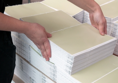 Druckerei - Finishing Line