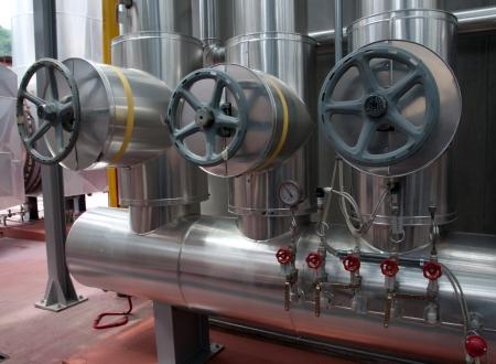 celulosa: Fábrica de papel y de pulpa - Planta de cogeneración