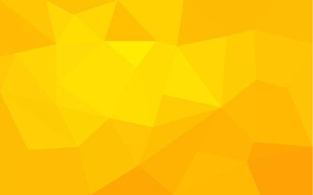 amarillo: Estructura de triángulo amarillo de fondo abstracto