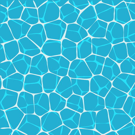 Water surface seen from above. Water background Illustration