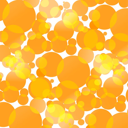 festive: Background with yellow circles, round festive abstraction