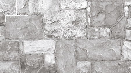 Gray stone wall closeup background Stockfoto