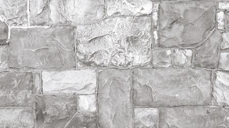 Grijze stenen muur close-up achtergrond Stockfoto