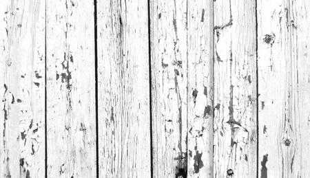 Oude geschilderde witte planken