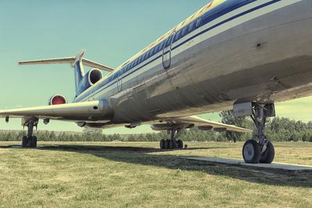 Tentoonstelling modellen van vliegtuigen verwijderd uit de release