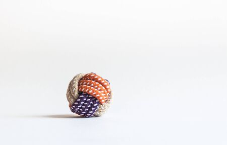 Rope ball for playing with Pets. Pet toy