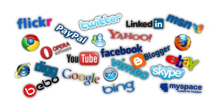 The world of internet and social technology Stock Photo - 13096319