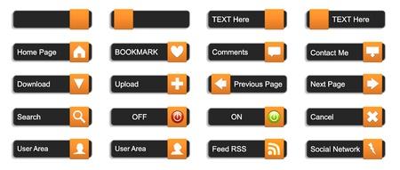 следующий: Полный набор 3D кнопки для использования сайта