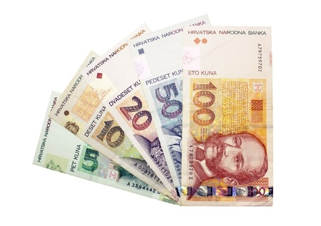 Images of banknotes of serbia Stock Photo - 13153205