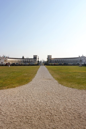 Entrace of Villa Manin in March 2011