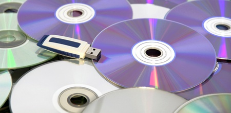 USB Pen Drive on CDs and DVDs, the innovation