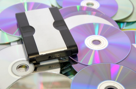 Hard Disk on CDs and DVDs, the innovation