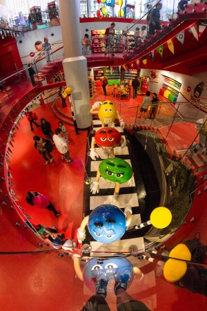 M&M World in London