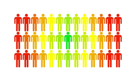 diversify: The man who stands out from the rest of the population