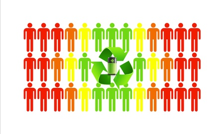Green ecology makes better people and helps save the world Stock Photo - 16246863