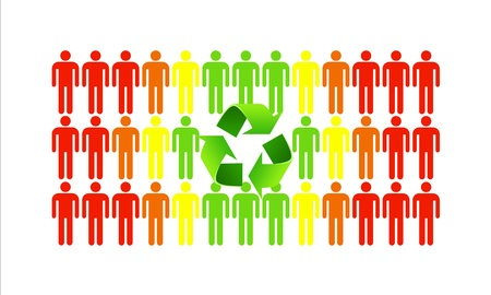 Green ecology makes better people and helps save the world Stock Photo - 16246899