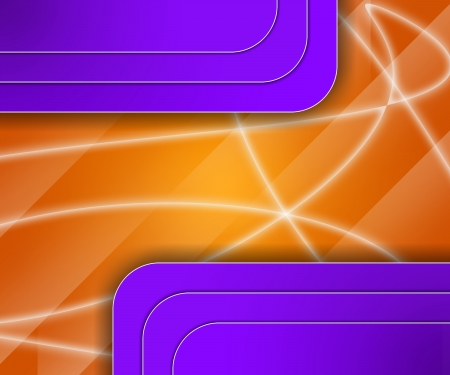 3D Abstract background with colored reflections and shadows photo