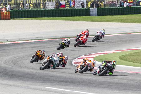 moto2: Misano Moto2 race. Misano Adriatico, September 14, 2014