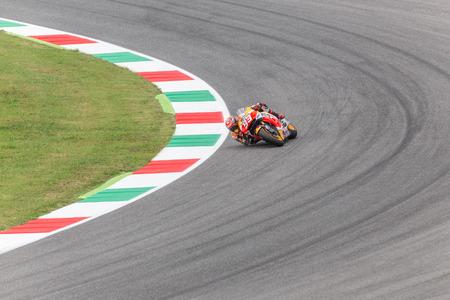 repsol honda: Marc Marquez on Official Honda Repsol MotoGP. Mugello, June 2015 Editorial