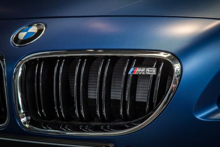 BMW M6 Cabrio at BMW museum, Munich. June 2016