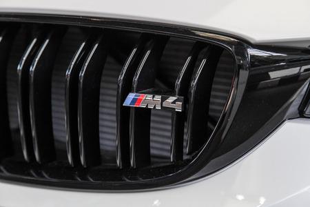 BMW M4 Coupè at BMW museum, Munich. June 2016