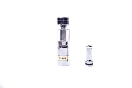 purported: big electronic cigarettes isolated on white e-cig