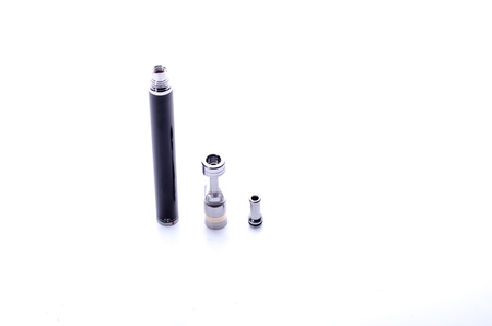 purported: big electronic cigarette isolated on white color solution choice